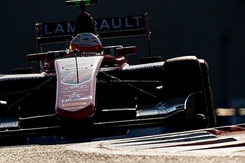 VSC infringement costs Hubert Abu Dhabi GP3 pole