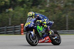 Rossi kopman in derde vrije training GP Maleisië, P21 Van der Mark