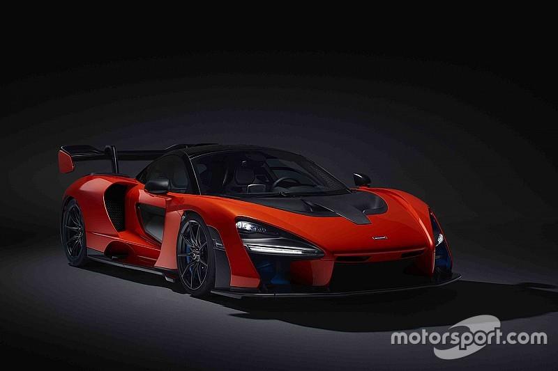 La primera prueba del McLaren llamado 'Senna'