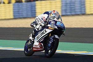 Martín crava terceira pole seguida em treino acidentado
