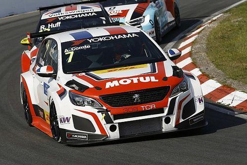 Aurélien Comte e Peugeot festeggiano la prima vittoria in Gara 2