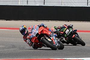 MotoGP Réactions Dovizioso a limité les dégâts après un début de week-end