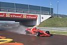 Formula 1 F1 test Pirelli: per Giovinazzi 124 giri sulla Ferrari con le intermedie