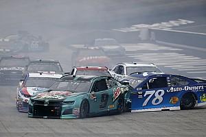 NASCAR Cup Interview Truex wants redemption at Richmond after recent crashes