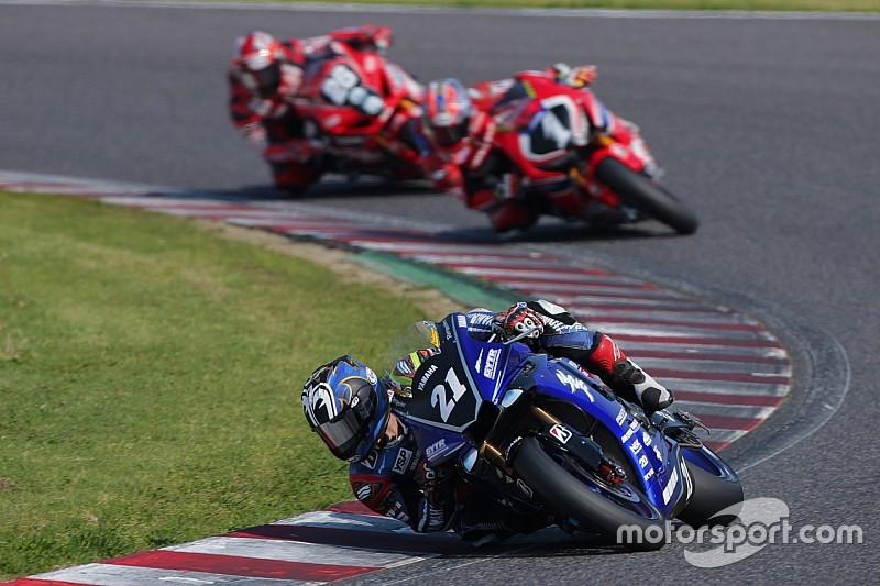 全日本ロードレース第2戦:集団戦を制した中須賀、圧巻の開幕3連勝