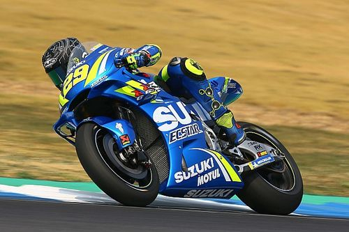Suzuki riders impressed by latest aero fairing