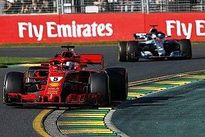 Fotogallery: le immagini più belle del GP d'Australia di Formula 1