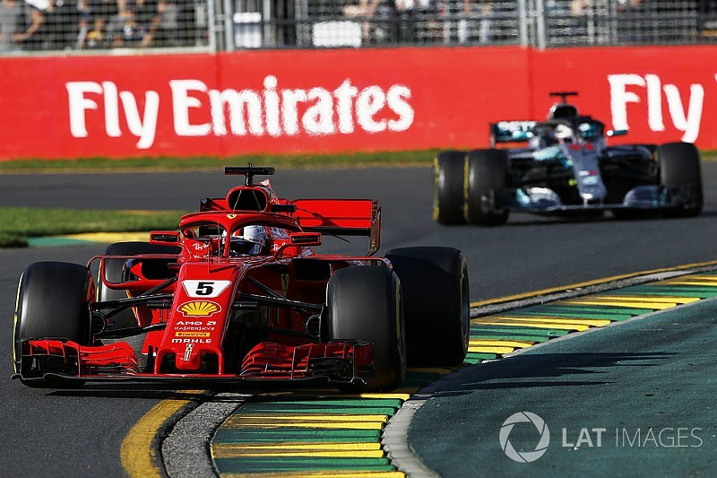 Photos - La course du GP d'Australie 2018
