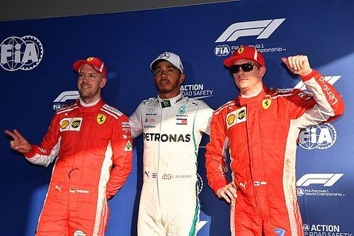 La parrilla de salida del GP de Australia