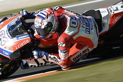 """Crash Marquez doet Dovizioso weinig: """"Zijn tempo is zeer goed"""""""