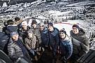На лыжных гонках в Австрии собрался весь цвет автоспорта: фото и видео