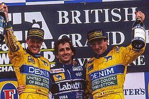 Schumacher ve Patrese'nin ilginç mücadelesi