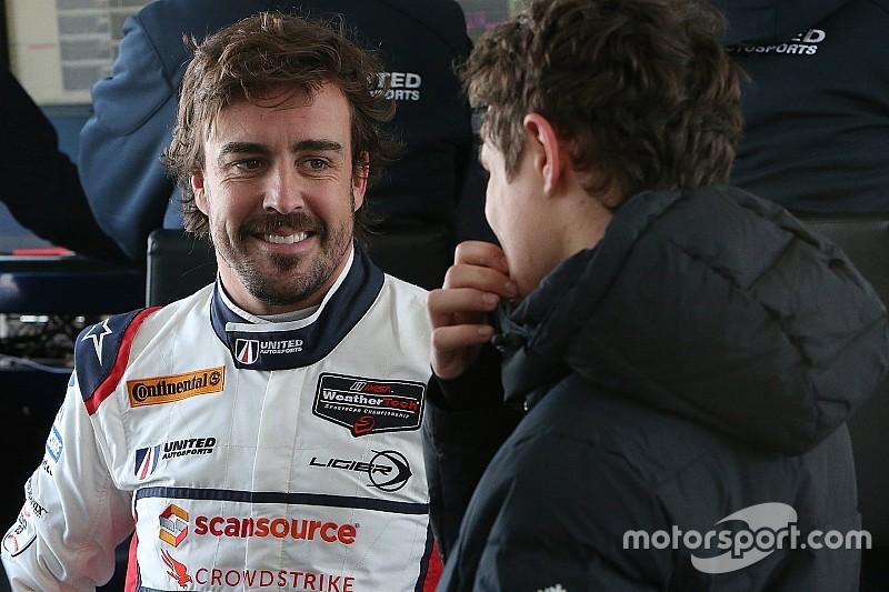 Alonso az amerikai legendával