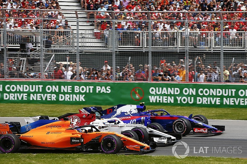 Canadian GP: Top photos from the race