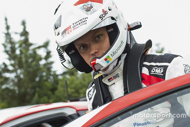 Finland WRC: Tanak tops Thursday's opening stage