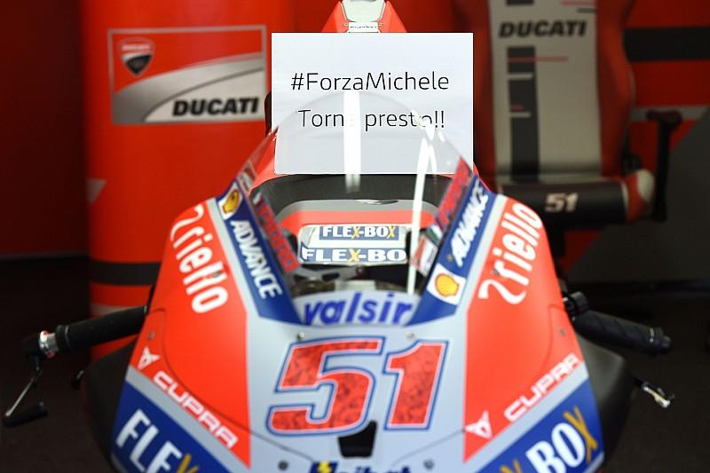 """Michele Pirro: """"Fuhr ohne Bremse auf die erste Kurve zu"""""""