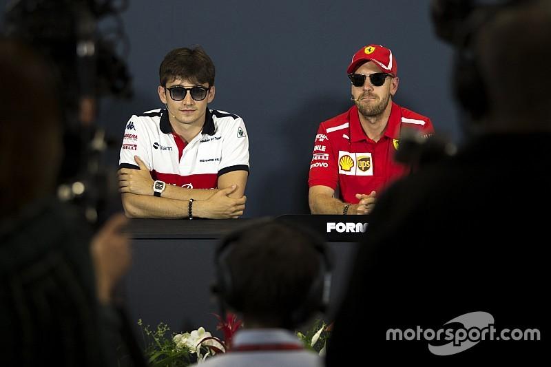 """Villeneuve: Vettel, gelmesi halinde Leclerc'i canlı canlı """"yemeye"""" çalışabilir"""