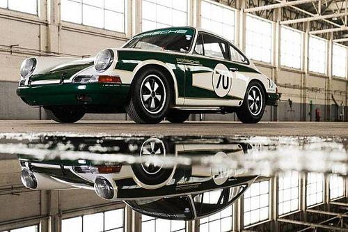 Une Porsche 911 de 1965 a été entièrement restaurée