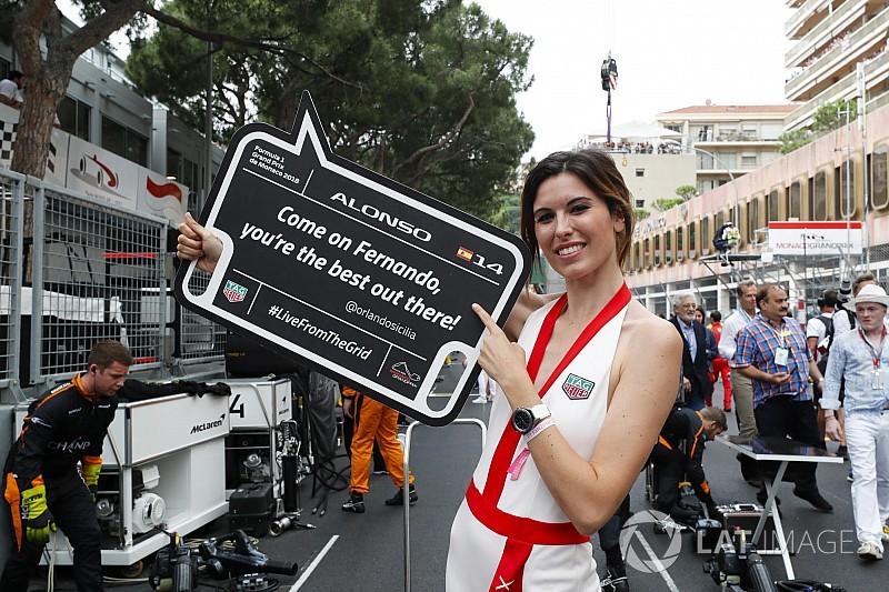 El GP de Mónaco recupera a las chicas de la parrilla... de manera original