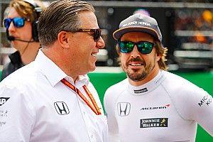 Brown: F1 dışındaki yarışlar Alonso'yu olumsuz etkilemiyor