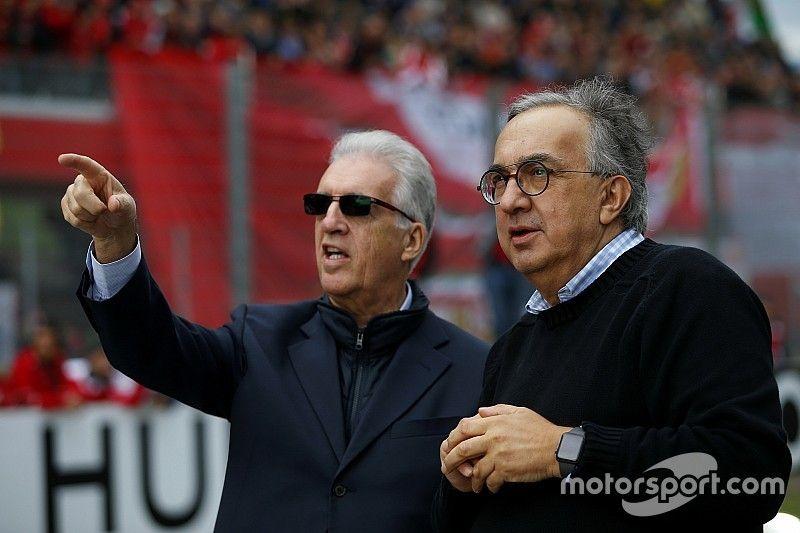 Marchionne maintient la menace d'un départ de Ferrari