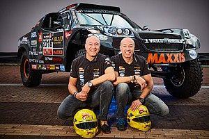 Tim und Tom Coronel: Rallye Dakar 2018 in einem Auto