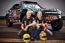 Dakar Tim und Tom Coronel: Rallye Dakar 2018 in einem Auto