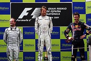 GALERIA: Relembre os 10 últimos vencedores do GP da Espanha