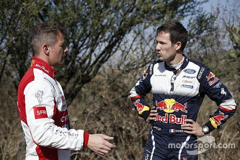 """Ogier su Loeb: """"Che peccato non rientri nel WRC a tempo pieno, ma così non mi preoccuperò di lui"""""""