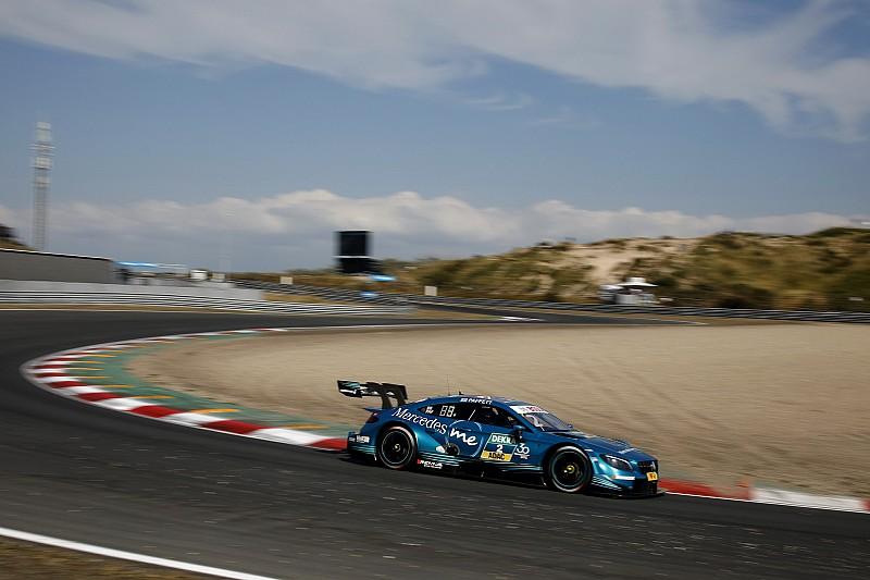 Paffett si prende la pole per Gara 1 e comanda il poker Mercedes a Zandvoort