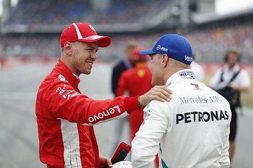 """Vettel in pole in Germania: è ufficialmente chiusa l'era del """"bottone magico"""" Mercedes"""