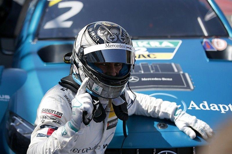 Paffett encabeza un triplete de Mercedes en la primera carrera de Zandvoort