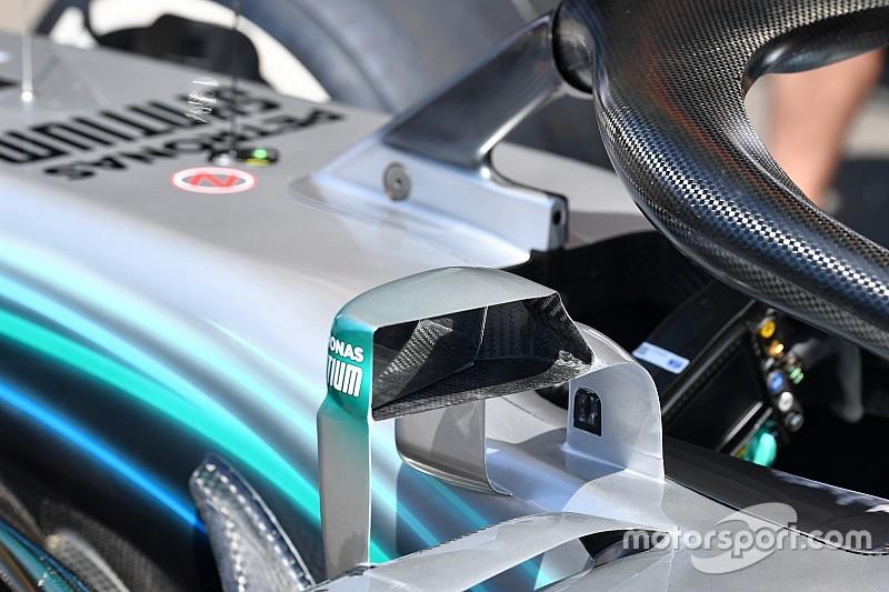 Los pilotos de F1 quieren reemplazar los espejos por cámaras y pantallas