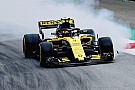 Sainz says blistering made Renault car