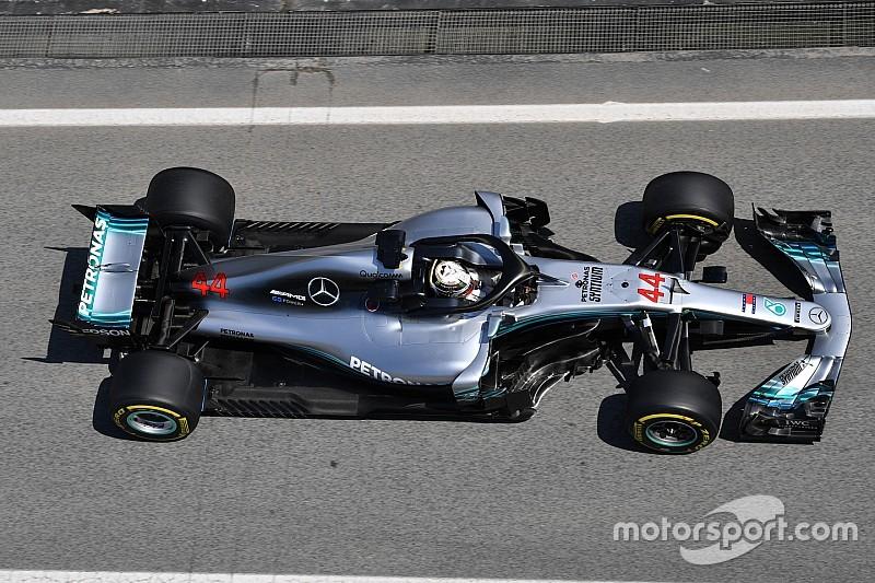 Hamilton szerint a Ferrari altat Barcelonában