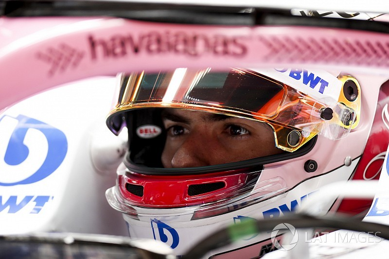 Nicholas Latifi gets first FP1 experience in Montréal