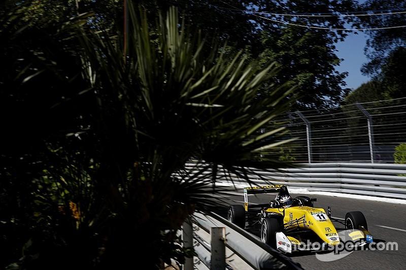 Fenestraz se impone en la segunda carrera de la F3 en Pau; Palou, segundo