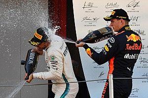 """Verstappen over vijfde titel Hamilton: """"Fijn voor hem"""""""
