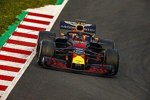 Tes Barcelona: Hujan guyur sesi sore, Ricciardo pimpin hari pertama