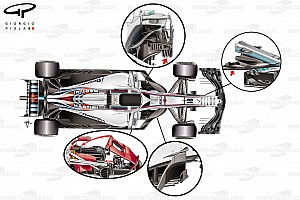 Formula 1 Analysis What are F1's biggest design trends in 2018?