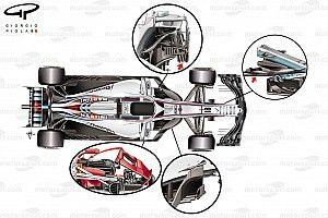 ¿Cuáles son las tendencias de diseño en los F1 de 2018?