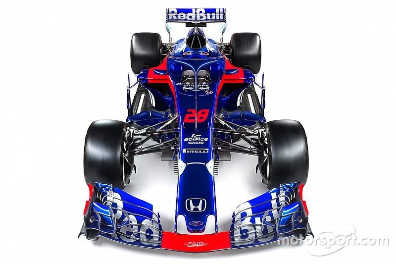 Toro Rosso'nun 2018 aracı ortaya çıktı