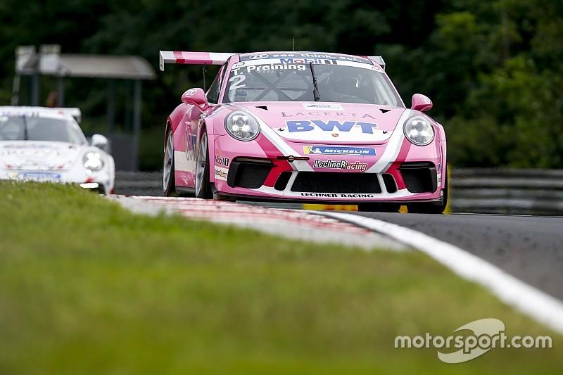 Porsche-Supercup: Erste Startreihe für zwei Porsche-Junioren