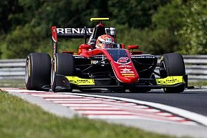 Hungaroring GP3: Hubert fastest in red-flagged qualifying