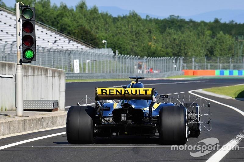Új padlólemezt vet be a Renault a Belga Nagydíjon