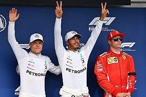 La grille de départ du GP de Hongrie