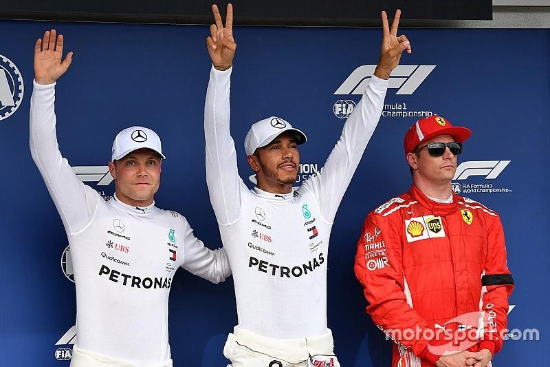 Macaristan GP: Yağmur dansında pole Hamilton'ın!