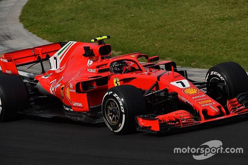 Ferrari blijft trendsetter: Raikkonen snelste man op tweede testochtend