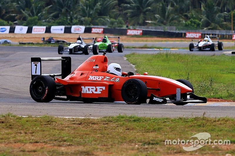 Coimbatore MRF F1600: Datta makes it two wins in a row