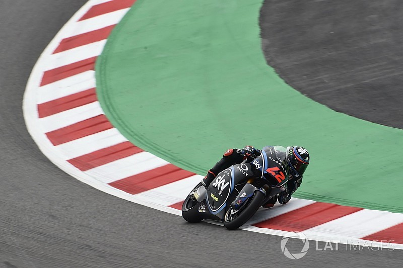 Moto2 Barcelona: Bagnaia snelste in derde training